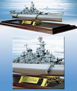 1943 U.S.S. Missouri Battleship
