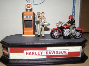 Harley Davidson Sportster Mechanical Bank