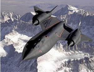 SR-71 Blackbird USAF Jet Plane