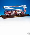 Pierce Snorkel Patriotic Fire Engine