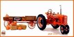 1941 Farmall H Tractor + Halloween Hayride Wagon